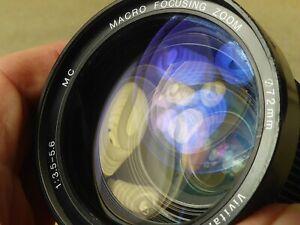 Vivitar 28-210mm Macro Focusing Zoom Lens Canon FD Fit canon a1 ae1 av at etc