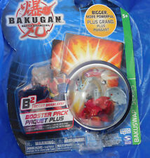 Bakugan Battle Brawler Bakuswap Gray Red Haos APOLLONIR NIP!