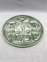 Yellowstone National Park Collectors Plate Vintage