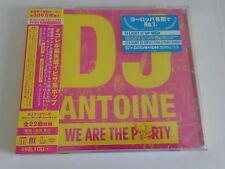 DJ Antonie-we are the Party-CD NUOVO (Giappone pressione)