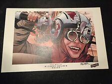** MICHAEL GOLDEN SIGNED ** CELEBRATION STAR WARS PRINT ** SKYWALKER ** RACER **
