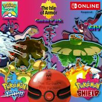 DLC Isle Of Armor GMax Pack Pokemon Sword & Shield