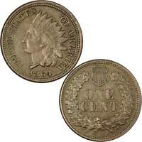 1864 Indian Head Cent XF EF Extremely Fine Copper-Nickel Penny 1c US Coin