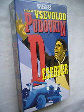 DESERTER ( PUDOVKIN ) ENGLISH TITLES NTSC VHS SMALL BOX