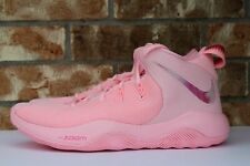 Nike Zoom Rev 2 TB Promo Sample SZ 10 Think Pink Arctic Punch Kay Yow AJ7718-605