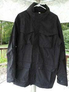 Lululemon Black Windbreaker Field Jacket Coat Men's XL Excellent condition