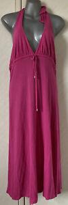 Calvin Klein Pink Beach Cover Up Summer Dress Size L