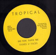 """NAMES & FACES – Do You Love Me (1974 KASEKO VINYL SINGLE 7"""")"""
