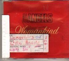 (BX168) The Angels, Womankind - 1992 DJ CD