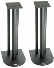 Atacama Nexus 6i Speaker Stands Satin Black (Pair)