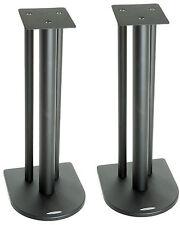 Atacama Nexus 6i Soportes de altavoces Satén Negro (Par)