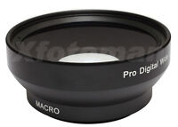 52mm 0.45x Wide Angle & Macro Conversion Lens For Canon Nikon Sony DSLR Camera