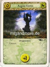 A Game of Thrones LCG - 1x Aegons Garten  #095 B - Base Set deutsch