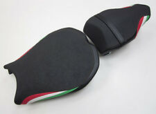 D08 Ducati 848 1098 1198 Seat covers with Italian flag colours-SET