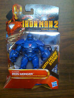 Marvel Universe Iron Man 2 Classics Iron Monger Figure with Stand NEW