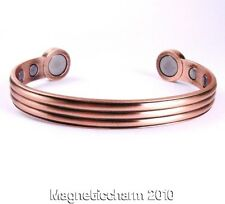 MENS ORIGINAL CLASSIC BIO MAGNETIC HEALING BANGLE FOR ARTHRITIS & PAIN RELIEF