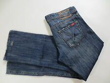 for men : GUESS Jeans Button Fly 33 ca L30 denim blue used /D220