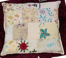 Funda de cojín de color principal multicolor 100% algodón para el hogar