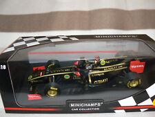 rare lotus renault f1 team r31 + pilote minichamps 1/18 1:18