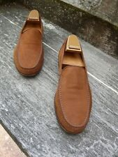 CHURCH LOAFERS – BROWN / TAN NUBUCK – UK 9 – PISA - EXCELLENT CONDITION