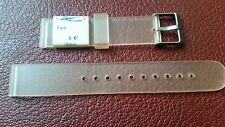 WATCH BAND BRACELET MONTRE PVC ****ZRC** orangé****18mm****REF BN58