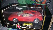 BURAGO 1:18 FERRARI 348tb (1989)/vetrina modello/OVP