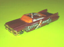 ⭐ HOTWHEELS PURPLE CUSTOM '59 CADILLAC ⭐GUITAR WARS GRAPHICS⭐ - MADE IN THAILAND