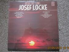 JOSEF LOCKE  -  HEAR MY SONG - LP - 1968 Pressing  - MFP Label