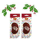 2 x Jelly Belly CHRISTMAS SCENT SIZZLING CINNAMON Car Air Freshener A1746