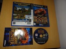 CABELA'S BIG GAME HUNTER 2005-Playstation 2 PS2-PAL Version
