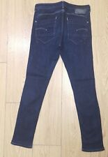 GENUINE ladies womens raw GS 011 skinny jeans SIZE 31 L28