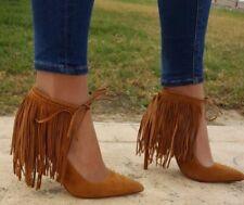 Zara Damen Leder High Heels Schuhe Größe UK 3 4 5 6 7