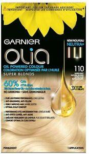 Garnier Olia Permanent Oil Powered Hair Color, 110 Super Light Natural Blonde