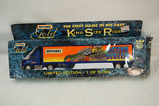 VINTAGE MATCHBOX KING SIZE RIGS TRUCK TOY GOLD 1:64 13in LONG BOX LTD ED