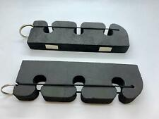2x 16cm Car Rod Holder Stand, Rod Rack, Strong Foam, Magnetic Back, Fly Fishing