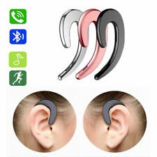 Business Wireless Bluetooth Headset 5.0 Bone Conduction Microphone Earbud Headse