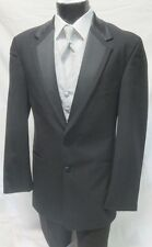 Boys Size 10 Perry Ellis Tropical Wool Tuxedo Jacket Discount Kids Party Tux
