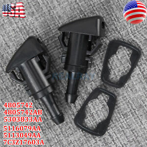 5113049AA Windshield Washer Nozzle for Dodge Grand Caravan Chrysler Town Country