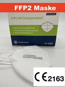 10 Stk FFP2 Maske CE 2163 zertifiziert Atemschutz mit PTFE Nano Filter