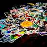 JDM Glossy sticker pack 100pc car bike laptop snowboard skateboard decal sticker