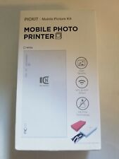 Pickit M2 NFC Wireless Portable Instant Photo Printer Bundle iOS/Android Mobile