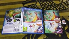 RAYMAN ORIGINS + LEGEND pal España Psvita Ps Vita Playstation