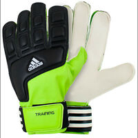 Adidas Performance Lime Green & Black Soccer Goalkeeper Gloves Size 8