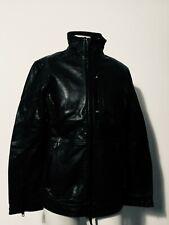 NWT Mens Diesel Black Gold Prototype GIUBBINI Leather Jacket Black M P2P22.5 L29