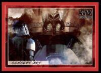 2020 Star Wars The Mandalorian Season 1 Concept Art Red #CA-6 Concept Art 6 /99