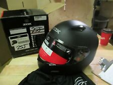 ZOX MOTORCYCLE  ATV SNOWMOBILE SCOOTER HELMET - FULLFACE GALAXY LARGE  MATTE BLK