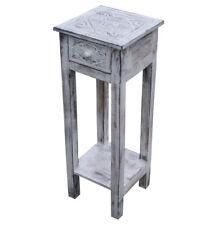 KMH Telefontisch Telefonkonsole Blumentisch Beistelltisch Tisch Holz Shabby