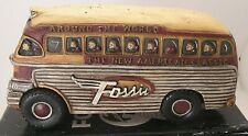 Vintage Factory Fossil Watch advertising Display Around the World Vintage Bus