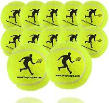 12x Tennisbälle für Wettkampf Training Tennisball gelb für alle Beläge