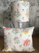 'Bunnies and Cream' Design Lampshade PLUS Matching Prefilled Cushion